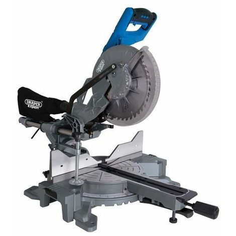 Draper 79899 255mm Double Bevel Sliding Compound Mitre Saw (2000W)