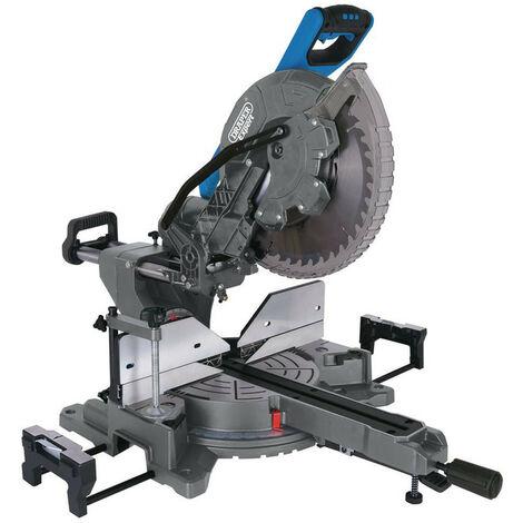 Draper 79901 305mm 240v Double Bevel Sliding Compound Mitre Saw (2000W)