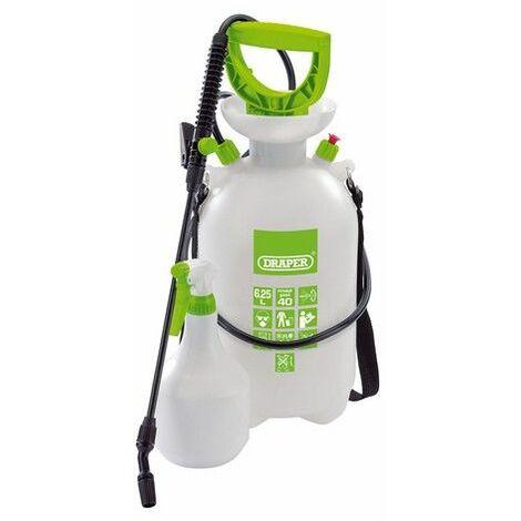 Draper 82464 Pressure Sprayer (6.25L) with Mini Sprayer (1L)