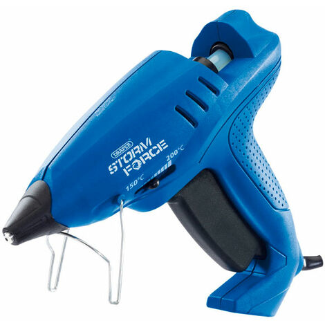 Draper 83661 Storm Force Variable Heat Glue Gun with Six Glue Sticks 400W