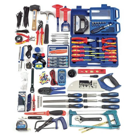"main image of ""Draper Electricians Tool Kit - 89756"""