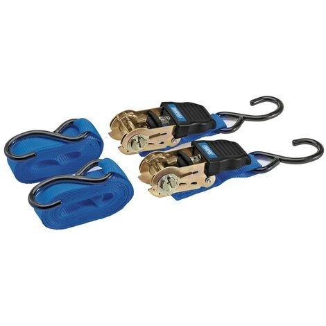 """main image of """"DRAPER 92769 - Ratcheting Tie Down Strap Sets"""""""