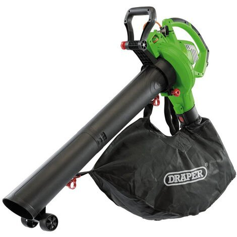 "main image of ""Draper 93165 3 in 1 Garden Vacuum/Blower/Mulcher 3200W 230V"""