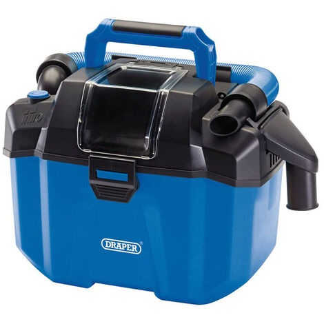 Draper 98501 D20 20V Wet and Dry Vacuum Cleaner - Bare