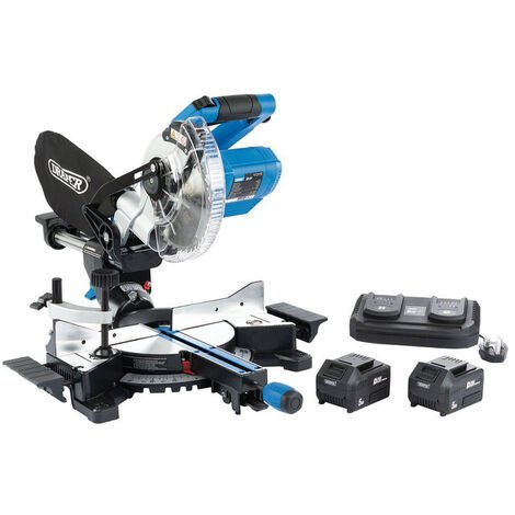 Draper 99765 D20 20V Brushless Sliding Compound Mitre Saw (185mm)