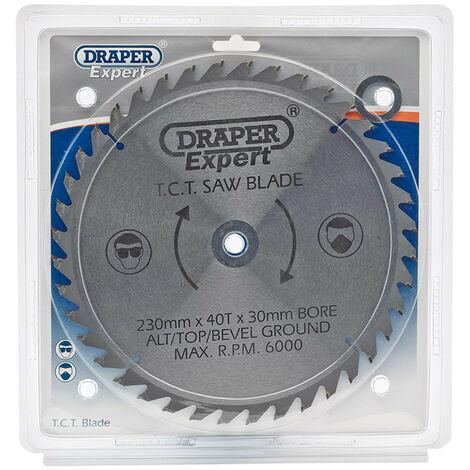 Draper Expert 09481 TCT Saw Blade 230X30mmx40T