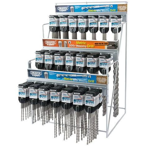 Draper Expert 64049 Metric SDS+ Drill Bit Merchandiser (137 Piece)