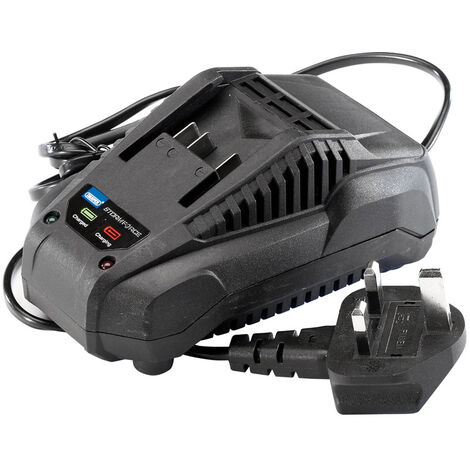 Draper Storm Force® 20V Charger For Power Interchange Range of Batteries