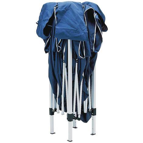 Draper Tools Concertina Gazebo 3x3 m Blue - Blue