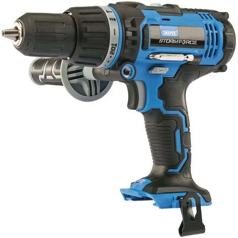 """Draper Tools Cordless Combi Drill """"Storm Force"""" Bare 20V 50Nm"""