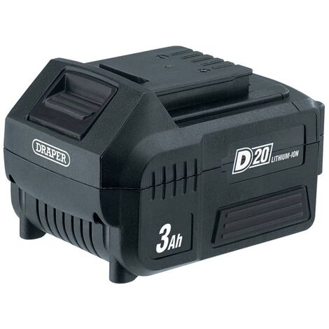 Draper Tools D20 Lithium-Ion Battery 3Ah 20V