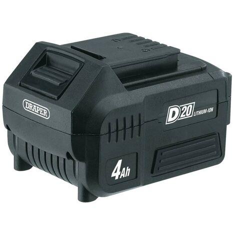 Draper Tools D20 Lithium-Ion Battery 4Ah 20V