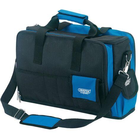Draper Tools Experts Sac à outils pour PC portable Bleu et noir 89209