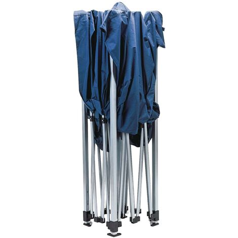 Draper Tools Folding Gazebo 3x3 m Blue