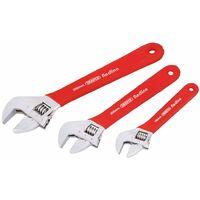 Draper Tools Juego de llaves inglesas ajustables Redline 67634