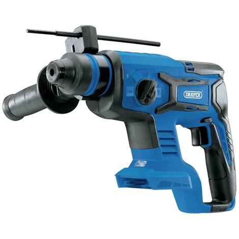 Draper Tools Martillo perforador y taladro SDS sin escobillas D20 20V