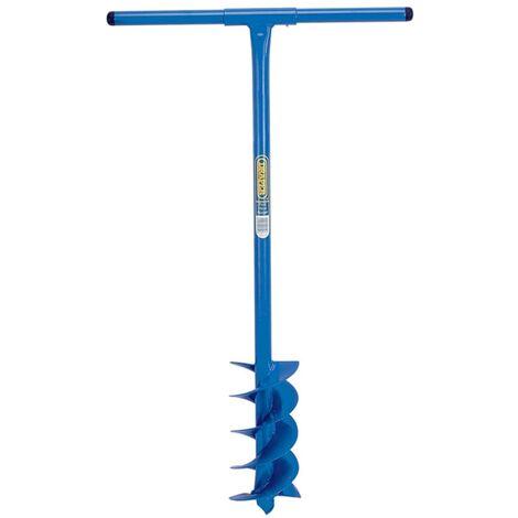 Draper Tools Perforador de suelo con broca 1070x155 mm azul 24414
