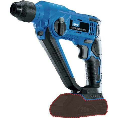 "Draper Tools SDS and Rotary Hammer Drill ""Storm Force"" Bare 20V"