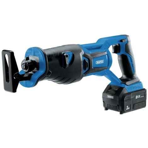 Draper Tools Sierra movimiento alternativo sin escobillas batería D20