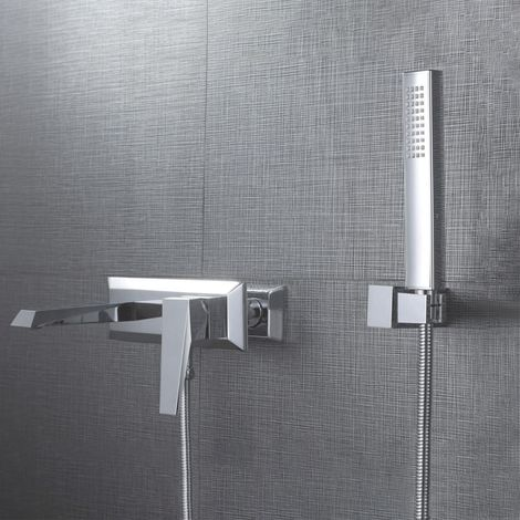 Drayton Bathroom Exposed Thermostatic Mixer Shower Tap & Handset