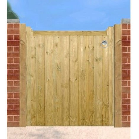 Drayton Low Wooden Single Gate 105cm Wide x 95cm High