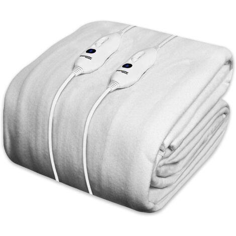 Dreamcatcher Double Electric Blanket Luxury Polyester, Double Bed 190 x 137cm Electric Heated Blanket