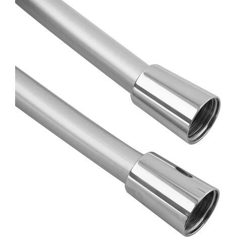 Drehkonus 100cm Duschschlauch Brauseschlauch Chromeline Kunststoff 1m Silber