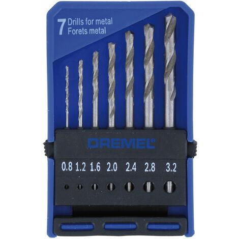 Dremel 2615062832 628 Precision Drill Bit Set - 7 Piece