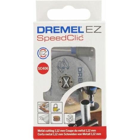 Dremel 2615S406JC SC406 EZ SpeedClic Starter Set
