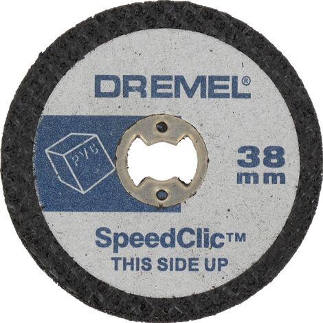 "main image of ""DREMEL 2615S476JB EZ SpeedClic: discos de corte para plástico. SC476"""