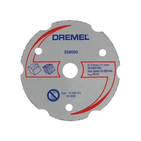 Dremel 2615S500JA DSM500 Saw-Max Multipurpose Cutting Wheel