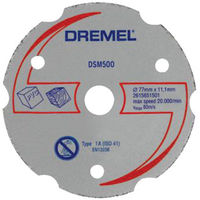 Dremel 2615S500JA DSM500 Saw-Max Multipurpose Cutting Wheel