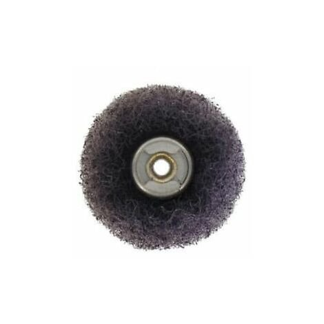 Dremel 2615S512JA Speedclic 2 Piece Buff Abrasive Wheel