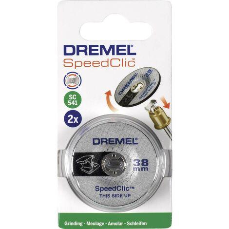 Dremel 2615S541JA 2er Speedclic - Schleifscheibe Durchmesser 38mm C53565