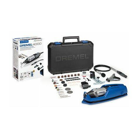Dremel 4000-4 / 65 EZ Multiherramienta eléctrica que incluye un juego de accesorios de 65 piezas en estuche - 175W