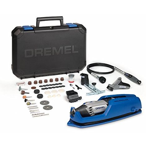 DREMEL 4000-4/65 Multiutensile (175 Watt), 4 Complementi, 65 Accessori
