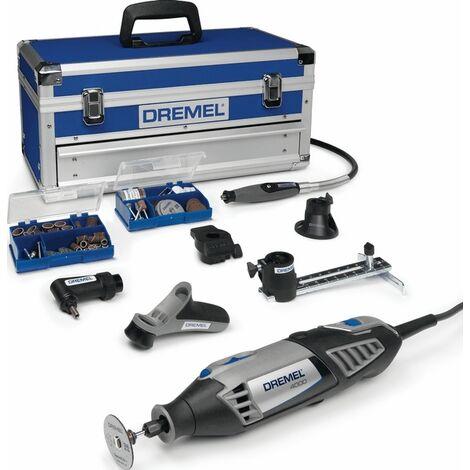Dremel 4000-6 / 128 - Outil multifonction + set d'accessoires (128pcs) dans mallette - 175W