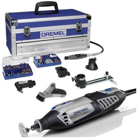 DREMEL 4000 Platinium multi-usage 175W + 128 accessoires - F0134000KE