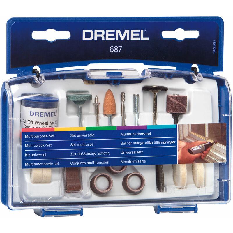 Image of 26150687JA 687 General Purpose Kit - Dremel