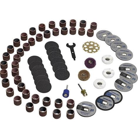 Dremel 70 accessori per mini trapano multifunzione multiuso con valigetta