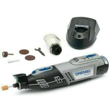 Dremel 8220-1/5 12V Multi-tool Kit with 1 Attachment & 5 Accessories in A Fabric