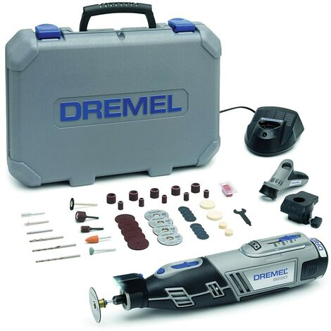 Dremel 8220-2/45 12V Multi-tool Kit with 2 Attachment and 45 Accessories in A Du