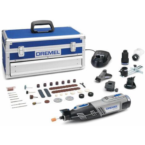 Dremel 8220-5/65 12V Multi Tool Platinum Kit + Stand & FOC Accessories
