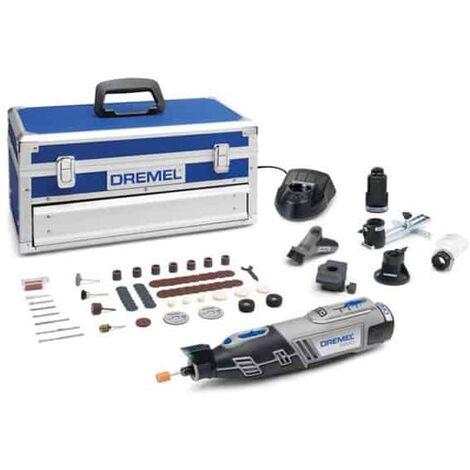 DREMEL 8220 outil multi-usage 12V 2.0Ah + 65 accessoires - F0138220JK
