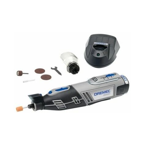 Dremel 8220JA Batterie Li-Ion 12V Corps rotatif pour plusieurs outils avec 5 accessoires