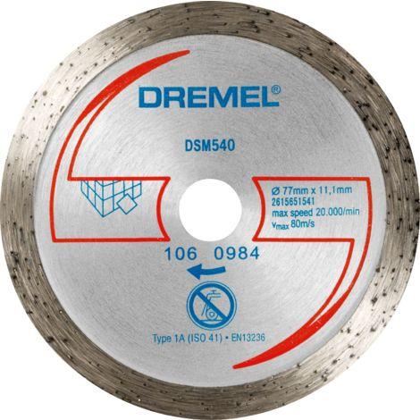Dremel Disque à tronçonner diamanté pour faïence, pour DREMEL® DSM20
