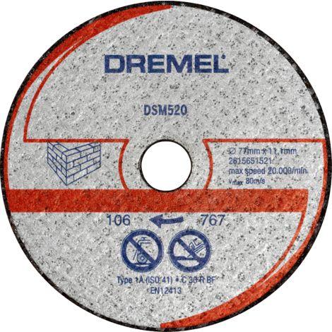 Dremel Disque à tronçonner pour maçonnerie, pour DREMEL® DSM20