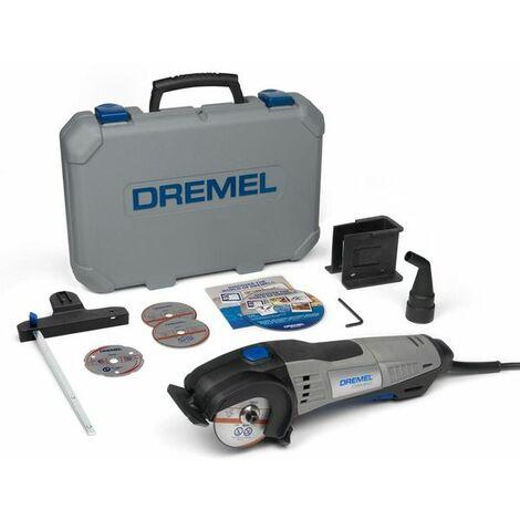DREMEL DSM20-3/4 Scie Compacte (710 W), 3 Adaptations, 4 Accessoires