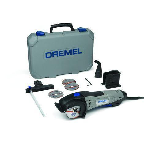Dremel DSM20-3/4 Sega Compatta, 710 Watt, 4 Accessori [Edizione Tedesca]