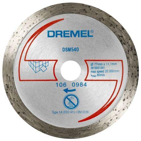 Dremel DSM20 disco diamantato per taglio di piastrelle